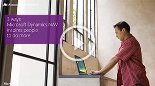 Microsoft Dynamics NAV Inspires People To Do More